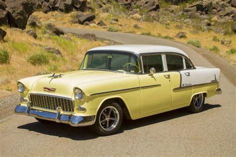 1955 Chevy Belair 4 Door by Buy Used 1955 Chevrolet Bel Air Base Sedan 4 Door 4 3l In