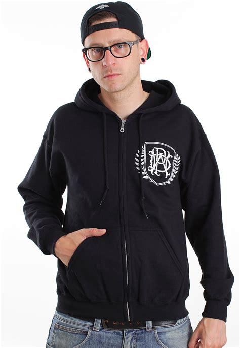 Zipper Parkway Drive Hitam Banaboo Shopping Parkway Drive Crest Logo Zipper Impericon Uk