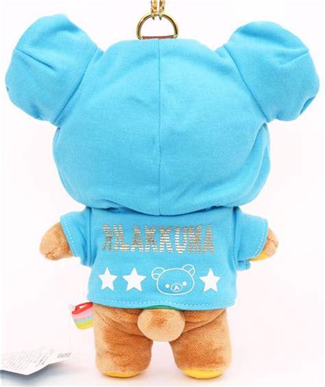 Color Rilakkuma rilakkuma hoodie plush color blue green san x