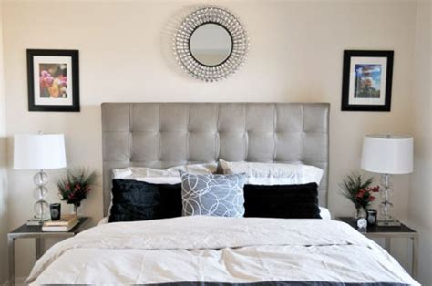 modern headboard design modern bedroom sporting tufted headboard in neutral colors