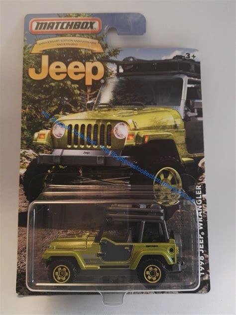 Matchbox Jeep 75th Anniversary Series Jeep Huricane Diecast 164 1998 jeep wrangler matchbox jeep 75th anniversary pg