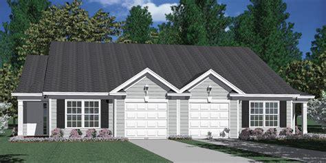 house plans for duplexes with garage houseplans biz house plan d1196 b duplex 1196 b