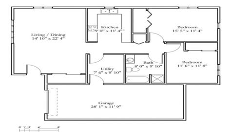 2 bedroom cottage small 2 bedroom cottage 2 bedroom cottage floor plans