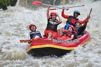 Paket 2 Hari 1 Malam Rafting 5 Km Dan Cing Weekend Outbound Malang