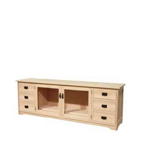 Mennonite Furniture by Mission 85 Quot Hdtv Unit Base Only Lloyd S Mennonite