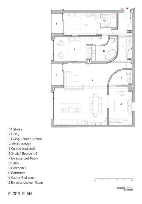 floor plan of warehouse warehouse style apartment in shoreditch london