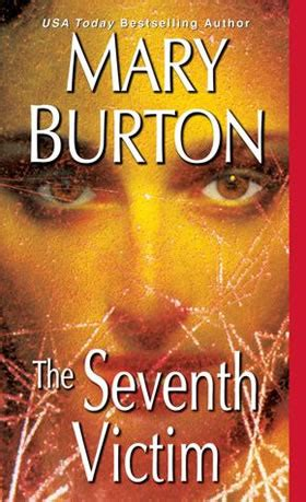 the seventh victim book review the seventh victim by burton authors