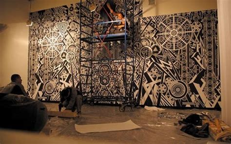Wall Mural Ideas by Large Scale Wall Murals Design Ideas By Famous Graphic