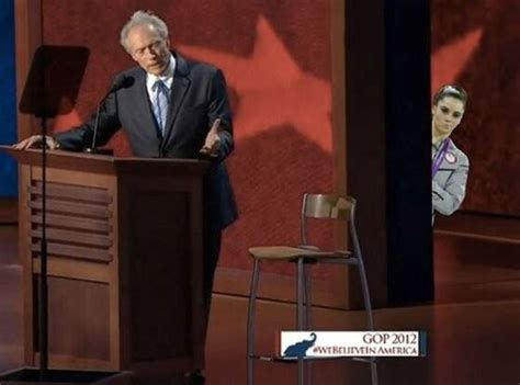 clint eastwood chair meme eastwooding five best exles of the empty chair meme