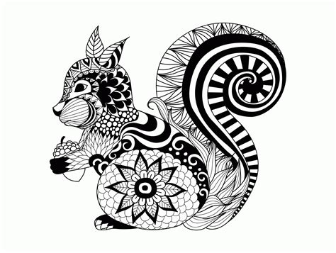 Detailed Animal Coloring Pages For Adults Coloring Home Detailed Coloring Pages Of Animals