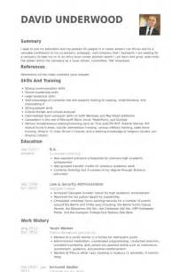 Youth Resume Template by Youth Worker Resume Sles Visualcv Resume Sles Database