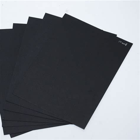 Black Craft Paper - black paper chip paperboard craft paper board black
