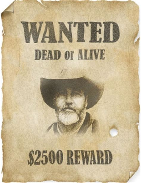 tutorial wanted dead or alive poster design 35 photoshop tutorials for designing your