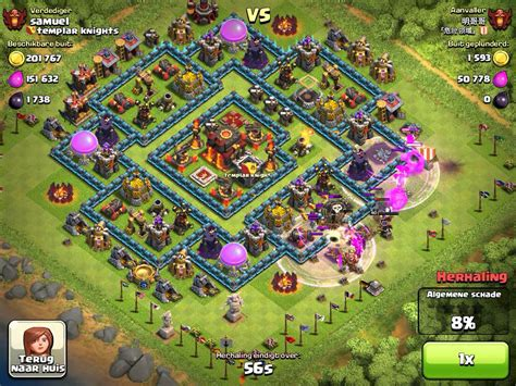 clahs of clans free clash of clans village coloring pages