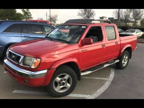 manual cars for sale 2000 nissan frontier interior lighting 2000 nissan frontier se crew cab 5 speed manual 4x4 off rd for sale in sacramento ca youtube