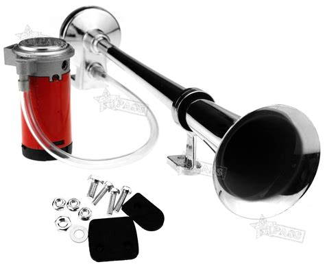 boat horn placement 150db 12v super loud single trumpet air horn compressor