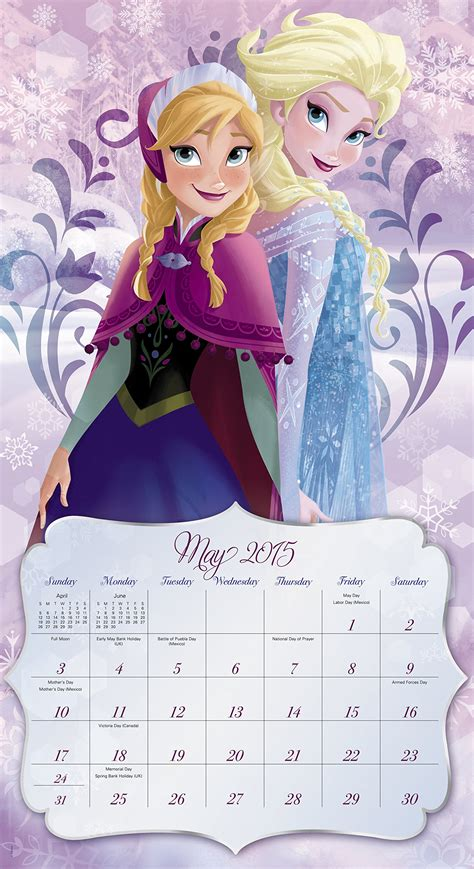 disney frozen calendar 2015 frozen 2015 wall calendar frozen photo 37275607