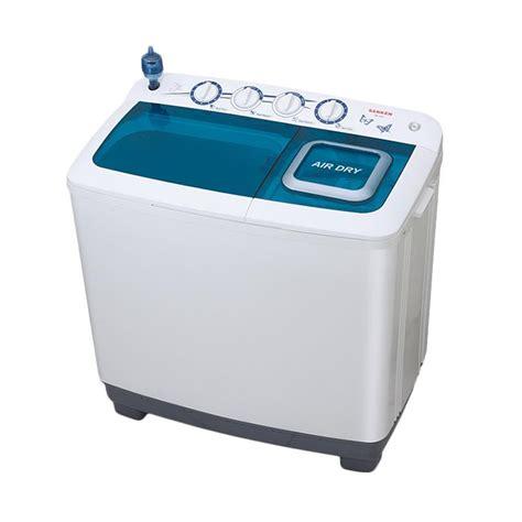 jual sanken tw1222 mesin cuci 2 tabung