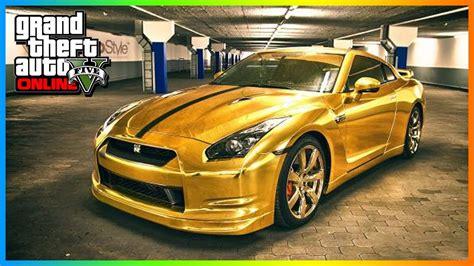 cool golden cars gta 5 modded cars golden chrome paint gta 5