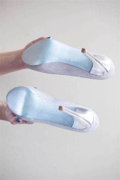 diy shoe soles diy painted something blue shoe soles something