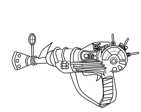 black ops ray gun free coloring pages