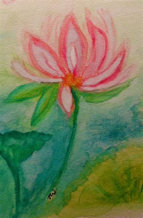 watercolor lotus tutorial 37 best images about lotus flowers on pinterest a symbol