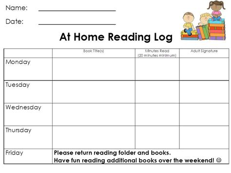 printable reading log for 3rd grade 5th grade independent reading log storia reading log