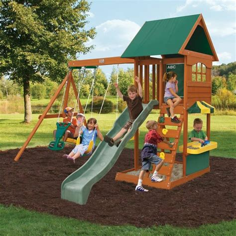 Big Backyard By Solowave 174 Augusta Ii Outdoor Play Centre Big Backyard By Solowave