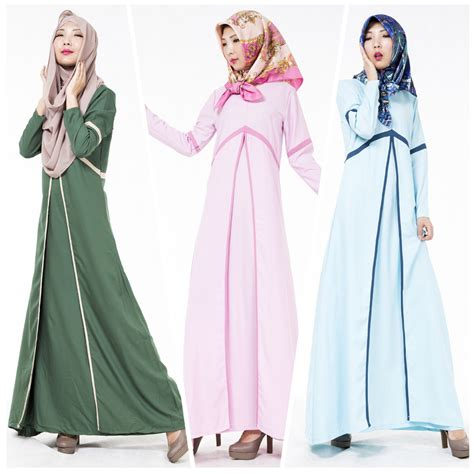 Abaya Dress Kaftan Busana Muslimah Mf 37 get cheap modest islamic clothing aliexpress alibaba