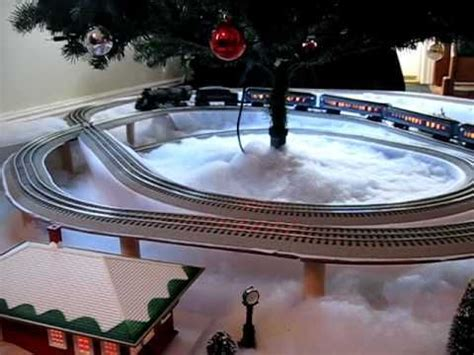 polar express christmas tree train set polar express layout layout polar express model and