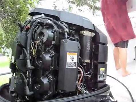 outboard engine compression test mercury evinrude johnson