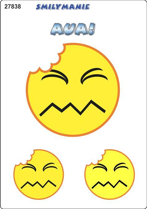Smiley Bilder Aufkleber by Aufkleber Smily Aua 150 X 105 Mm Schneller Versand