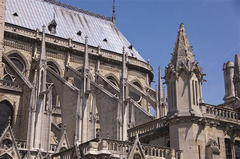 flying buttress flying buttress at nortre dame cathedral photograph by jon