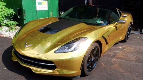 gold corvette my gold corvette stingray
