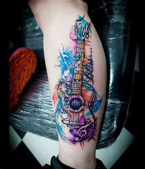25 best ideas about watercolor tattoo music on pinterest