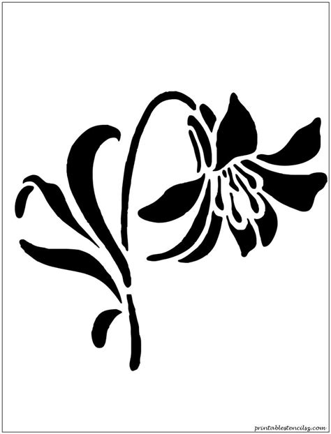 printable flowers stencils 17 best images about patterns and stencil designs on