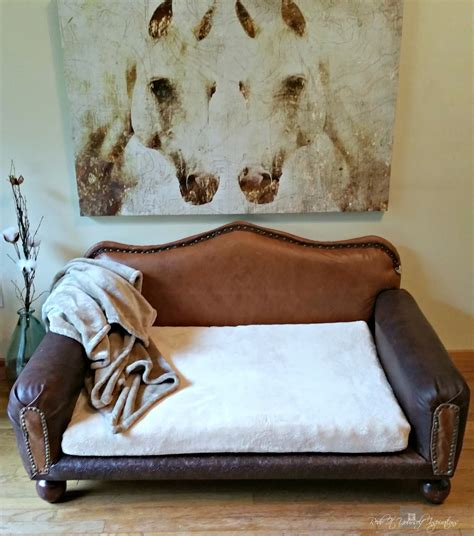 diy dog sofa redo it yourself inspirations how to diy leather dog