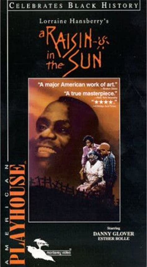 how does hansberry use asagai to reflect the theme of a raisin in the sun raisin in the sun 1989 on collectorz com core movies