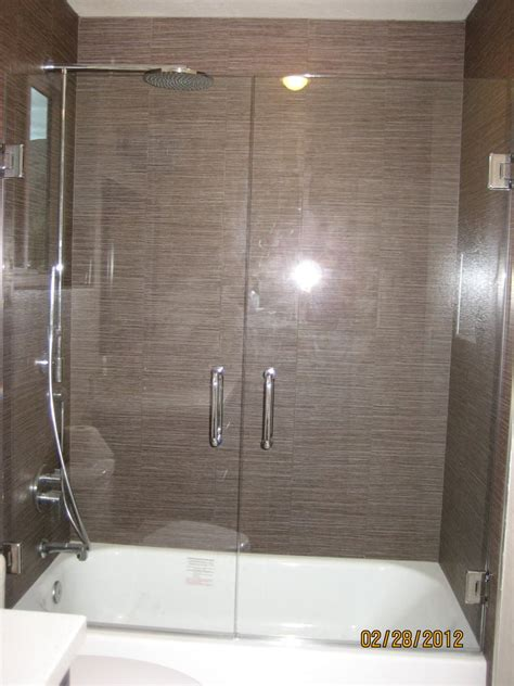 swing shower doors swing shower door tub yelp