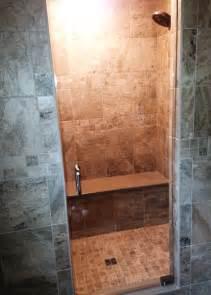 Tile Shower Stall Installation by Romagnoli Ceramic Tile Installation Kitchen Bath Design