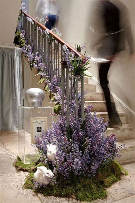 54 best staircase flower images on Pinterest   Wedding