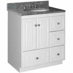 Bathroom vanities strasser woodenworks 30 quot w simplicity vanity with