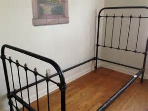 Single Wrought Iron Bed Frame Antique Wrought Iron Single Bed Frame Ebay