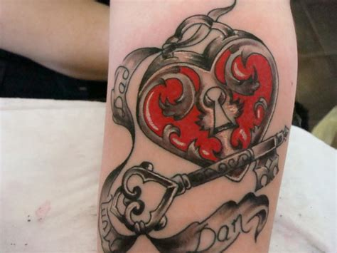 65 Awesome Skeleton Key Tattoos Lock And Skeleton Key Tattoos