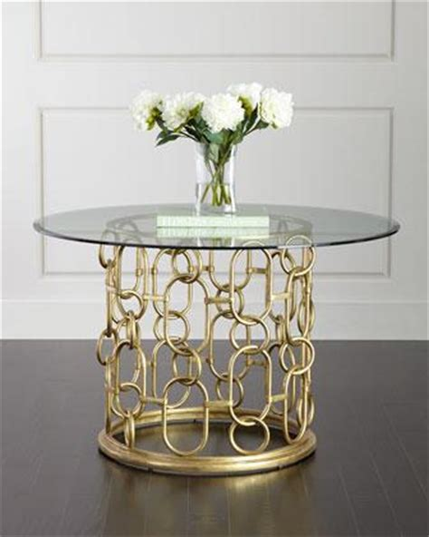glass and gold dining table away gold leaf dining table i layla grayce