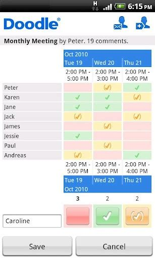 how to use doodle for scheduling doodle scheduling for android appszoom