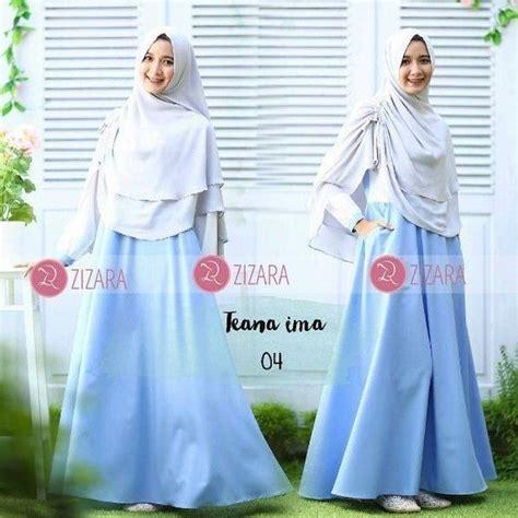 Baju Gamis Zizara gamis zizara teana ima 04 baju muslim wanita baju