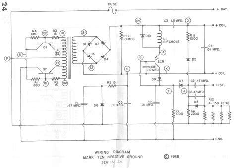 capacitive discharge firing circuit capacitive discharge ignition diagram