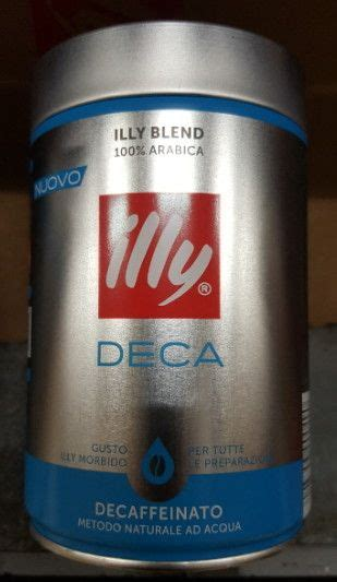 Illy Esp Ground Decaffeinated Coffe 250 Gr 1 caff 232 illy decaffeinato gr 250 alimentari caff 232 t 232