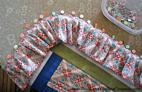 Edging For Quilts by Ruffles Upon Ruffles Quilts